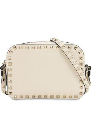 VALENTINO GARAVANI Women Shoulder Bags - Rockstud Leather Camera Bag