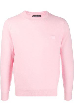 Acne Studios Sweatshirts - Wool face patch jumper