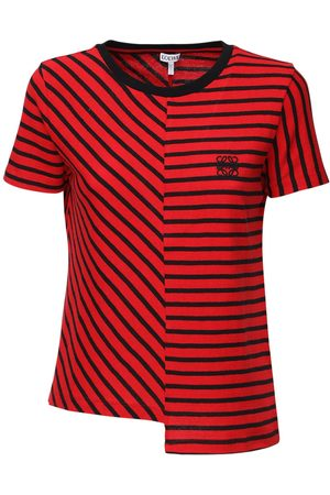 Loewe Striped Cotton Knit T-shirt