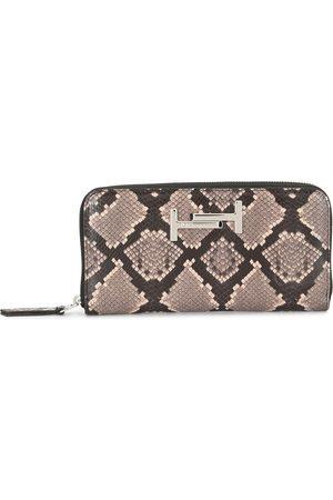 Tod's Python-effect zip wallet