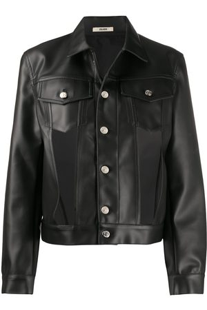 Zilver Women Leather Jackets - Cut-out faux leather jacket