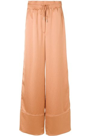 OFF-WHITE Palazzo trousers - Neutrals