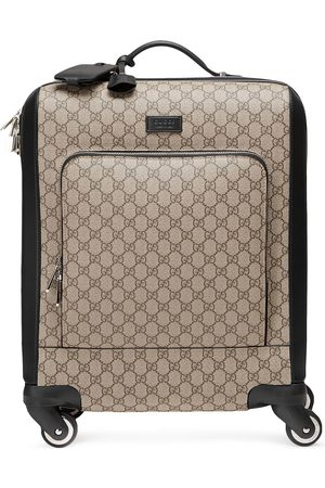 Gucci Luggage - GG Supreme carry-on - Neutrals