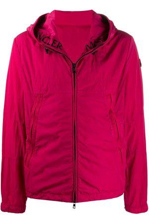 Moncler Men Jackets - Hooded zip-up jacket