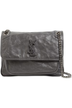 Saint Laurent Women Shoulder Bags - Medium Niki Monogram Leather Bag