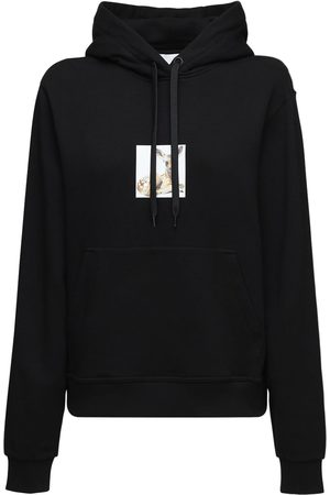Burberry Bambi Print Cotton Jersey Hoodie
