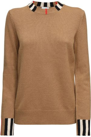 Burberry Women Sweaters - Eyre Cashmere Knit Sweater