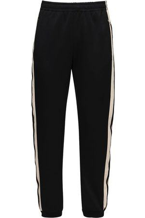 Gucci Cotton Blend Jersey Track Pants