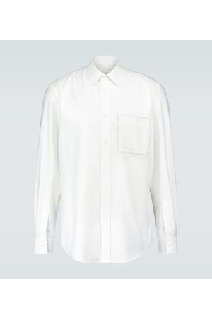 Burberry Cotton Oxford shirt with lace