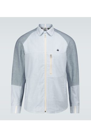 JUNYA WATANABE MAN x Brooks Brothers zipped shirt