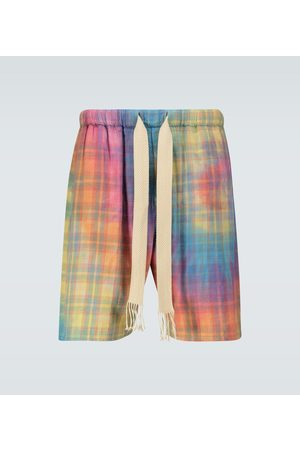 Loewe Men Shorts - Paula's Ibiza checked shorts
