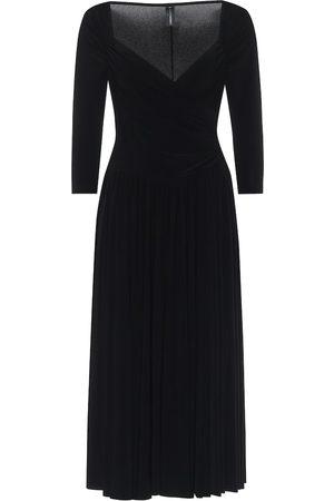 Norma Kamali Super Flair midi dress