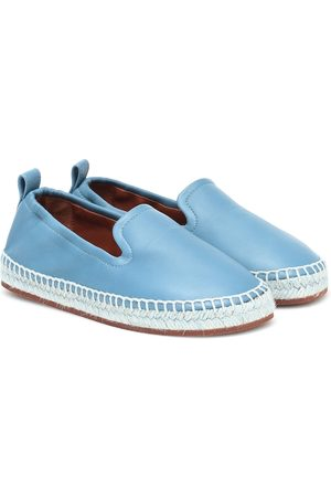 Loro Piana Agata leather espadrilles
