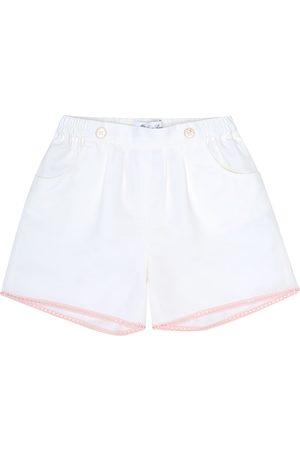 Loro Piana Girls Shorts - Kelsie embellished cotton-blend shorts