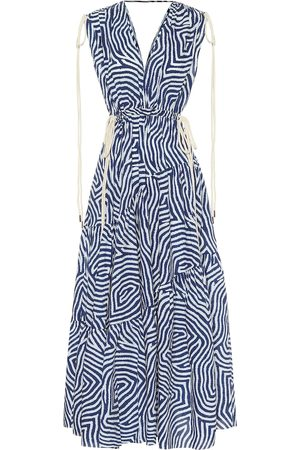 Lee Mathews Exclusive to Mytheresa – Ada printed cotton midi dress