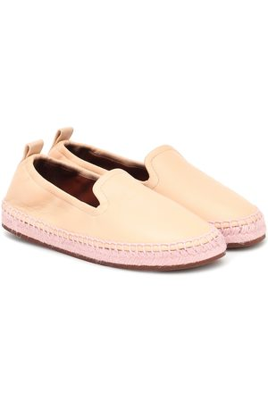 Loro Piana Girls Espadrilles - Agata leather espadrilles