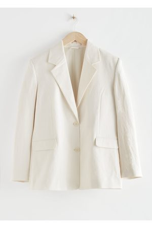 & OTHER STORIES Linen-Blend Blazer