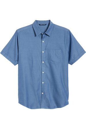 Cutter & Buck Men's Windward Mineral Short Sleeve Button-Up Shirt