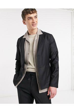 ASOS Slim soft tailored suit jacket in 100% wool