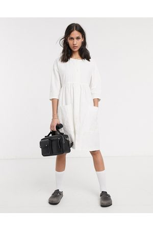 LF Markey Samuel smock mini dress in