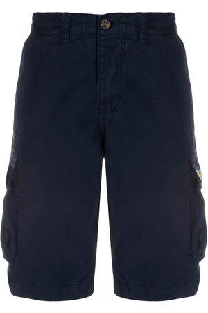 MC2 SAINT BARTH Freeport embroidered cargo shorts