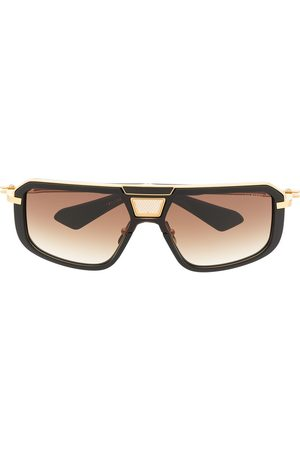 DITA EYEWEAR Two-tone square-frame sunglasses