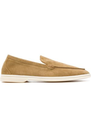 Scarosso Almond toe loafers - Neutrals