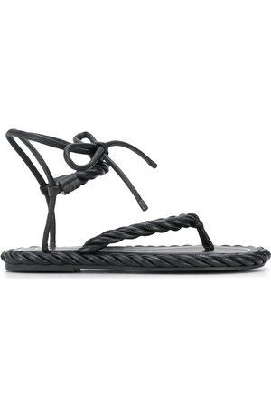 VALENTINO GARAVANI The Rope flat sandals