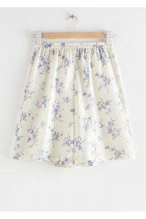 & OTHER STORIES Relaxed Silk Shorts