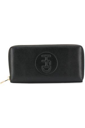 Honey Fucking Dijon Embossed logo continental wallet
