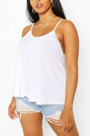 Boohoo Womens Plus Recycled Basic Strappy Top - - 20