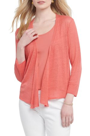 NIC+ZOE Women's 4-Way Convertible Three Quarter Sleeve Cardigan