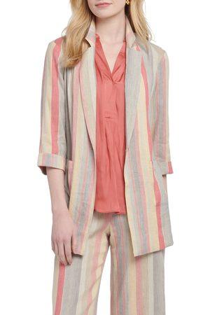 NIC+ZOE Women's Sweet Clover Stripe Blazer