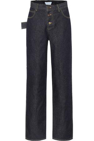 Bottega Veneta Women High Waisted - High-rise straight jeans