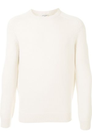 Saint Laurent Men Sweaters - Cashmere crew neck jumper