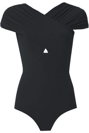 AMIR SLAMA Women Backless Tops - Open back body blouse