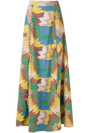 AMIR SLAMA Women Maxi Skirts - High-waisted maxi skirt - Multicolour