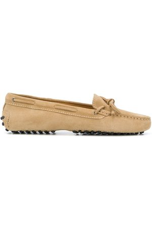 Scarosso Guilia driving loafers - Neutrals