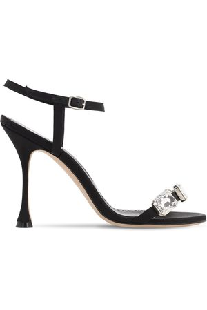 Manolo Blahnik Women Sandals - 105mm Nafud Satin Sandals