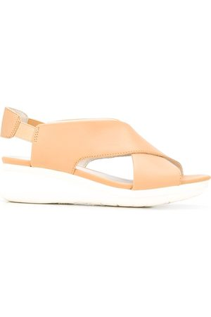 Camper Platform wedge sandals - Neutrals