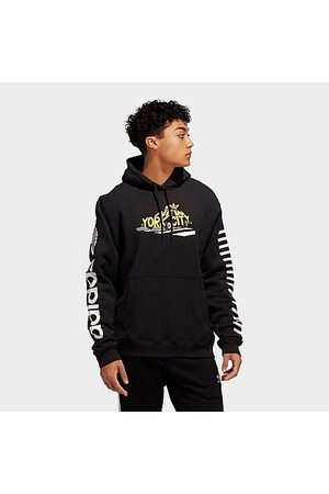 adidas Men Hoodies - Men's Originals City Cab Hoodie in Size X-Large Cotton/Polyester/Fleece