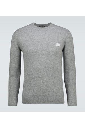 Acne Studios Kalon Face wool crewneck sweater