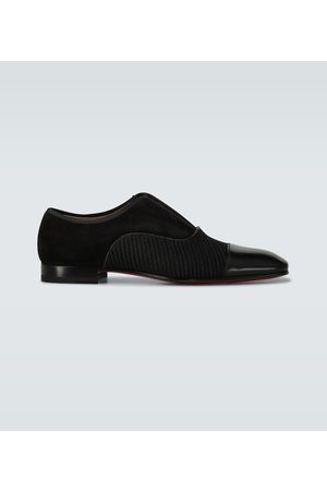 Christian Louboutin Alpha Male leather derby shoes