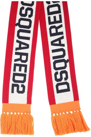 Dsquared2 Logo Jacquard Knit Scarf