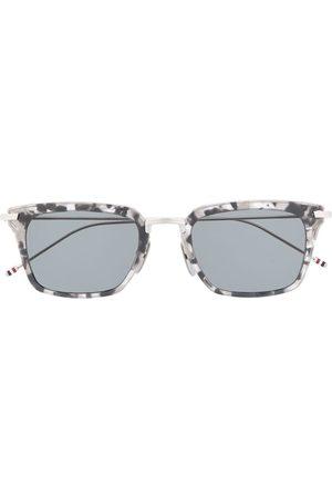 Thom Browne Wayfarer rectangular-frame sunglasses - Grey