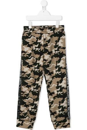 Balmain Camouflage-print track pants