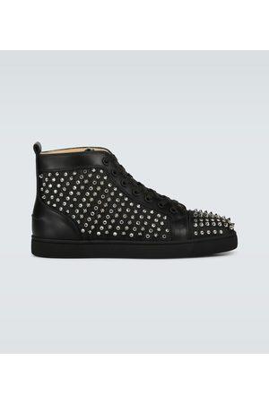Christian Louboutin Louis Canvas Lurex sneakers