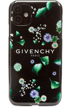 Givenchy Men Phones Cases - Floral Logo iPhone XI Case