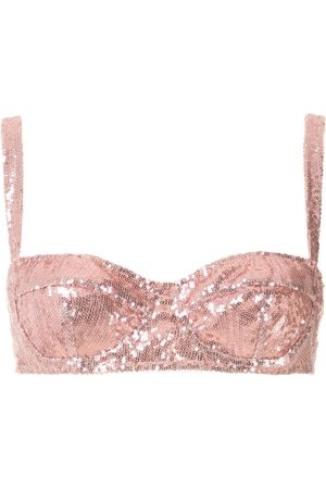 Dolce & Gabbana Women Balconette Bras - Balcony sequined bra