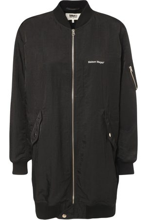 MM6 MAISON MARGIELA Logo Nylon Bomber Jacket